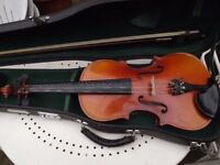 Violin set 3/4 complete with case and bow