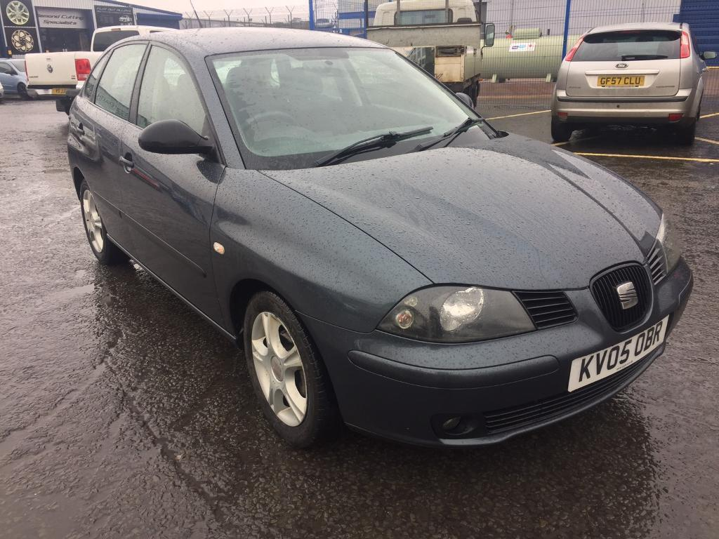 seat ibiza sx 2005 5dr in cardiff gumtree. Black Bedroom Furniture Sets. Home Design Ideas