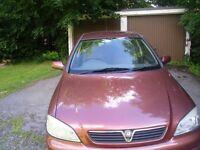 2001 VAUXHALL ASTRA LONG MOT AND FSH FOCUS VECTRA CAR