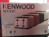 Brand new Kenwood TTM480 Scene 4 Slot Toaster