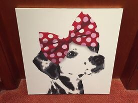 Dalmatian with Bow Picture