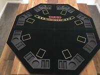 8 birth foldable poker table