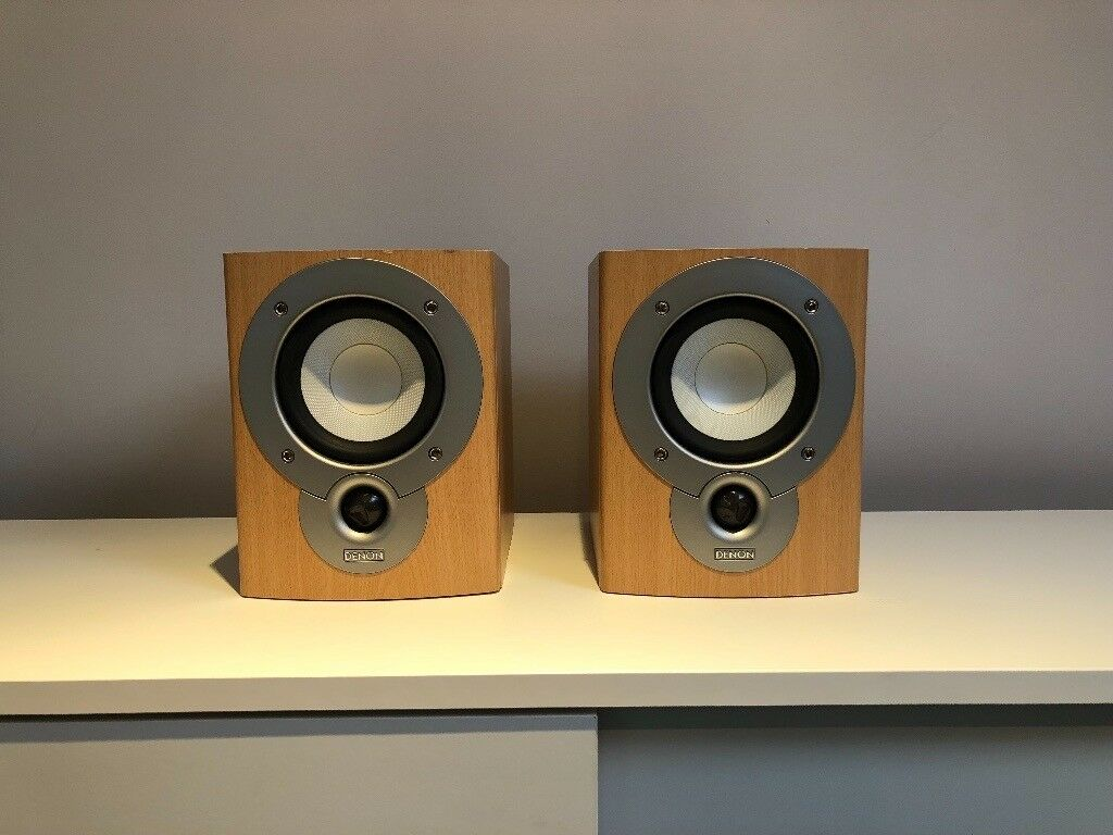 Denon Bookshelf Speakers Mission