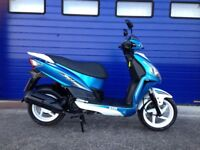 2015 LATE REGISTERED SYM JET 4 125 SPORTS SCOOTER , HPI CLEAR GREAT CONDITION , SERVICE HISTORY