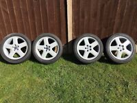 Volvo 17inch Alloys with tyres