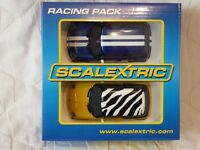 Scalextric Mini Cooper Racing Pack, C3128, contains two Minis