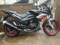 Selling due to her passing bike test .only 219 miles from new .only 1 year old