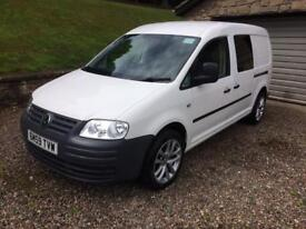 Vw caddy maxi C20 2009 (59) 1.9 TDi 104ps only 74100 miles