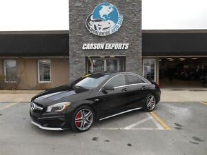 2014 Mercedes-Benz CLA 45 AMG! ONLY 45K!  FINANCING AVAILABLE!