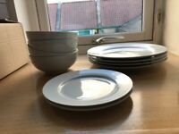 Plates, bowls and side plates