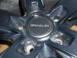 4-BRAELIN 22 INCH RIMS MOUNTED ON P265/40R20 PIRELLI SCORPION