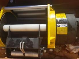 T max hydraulic winch