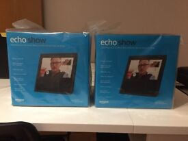 Amazon Echo Show (2 available, Brand New / Sealed)