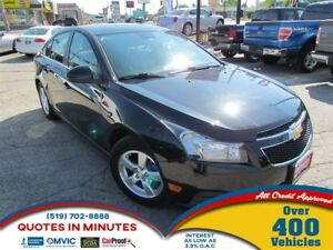 2012 Chevrolet Cruze LT | TURBO | BLUETOOTH | SAT RADIO