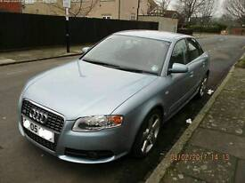 Audi A4 S Line Quattro 4dr family car NOT bmw rs tdi rs4 s4 estate 3dr 3 door A6