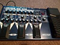 BOSS ME-50b Bass multi fx distortion overdrive delay modulation guitar fx