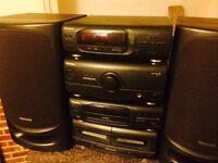 Technics se-ch404. All 4 seperates plus speakers