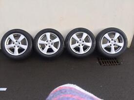 "16"" Honda alloys(5 stud) for sale"
