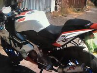 Aprilia rs 125 full power 2008