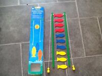 Tobar Wooden Fishing Game. Quality branded toy. Children's game
