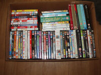 Job Lot Of single and Boxed DVDs inc Sex and the city