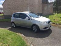 58 Chevrolet Aveo 1.2 silver 11 months mot low insurance low tax £995