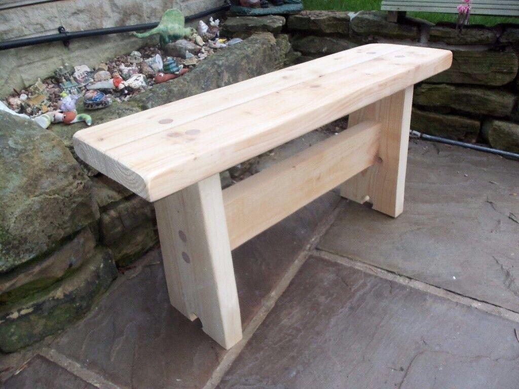Amazing Handmade Wooden Bench In Chapeltown South Yorkshire Gumtree Uwap Interior Chair Design Uwaporg