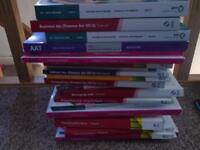 AAT Level 2, 3 and 4 books, question papers and passcards