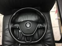 Volkswagen polo 6R steering wheel & airbag