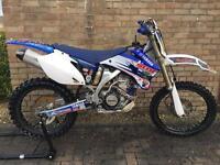 Yamaha YZF250 yz250f not crf ktm kx rm