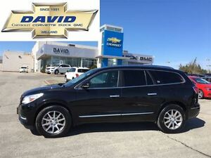 2016 Buick Enclave LEATHER 1SL AWD, ROOF, 7PAS, RSTR, XM, SAFPKG