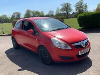 2010 VAUXHALL CORSA 1.3 CDTI EXCLUSIV 3 DOOR HATCHBACK CHEAP INSURANCE 5 SEAT ECO RED NO FIESTA POLO