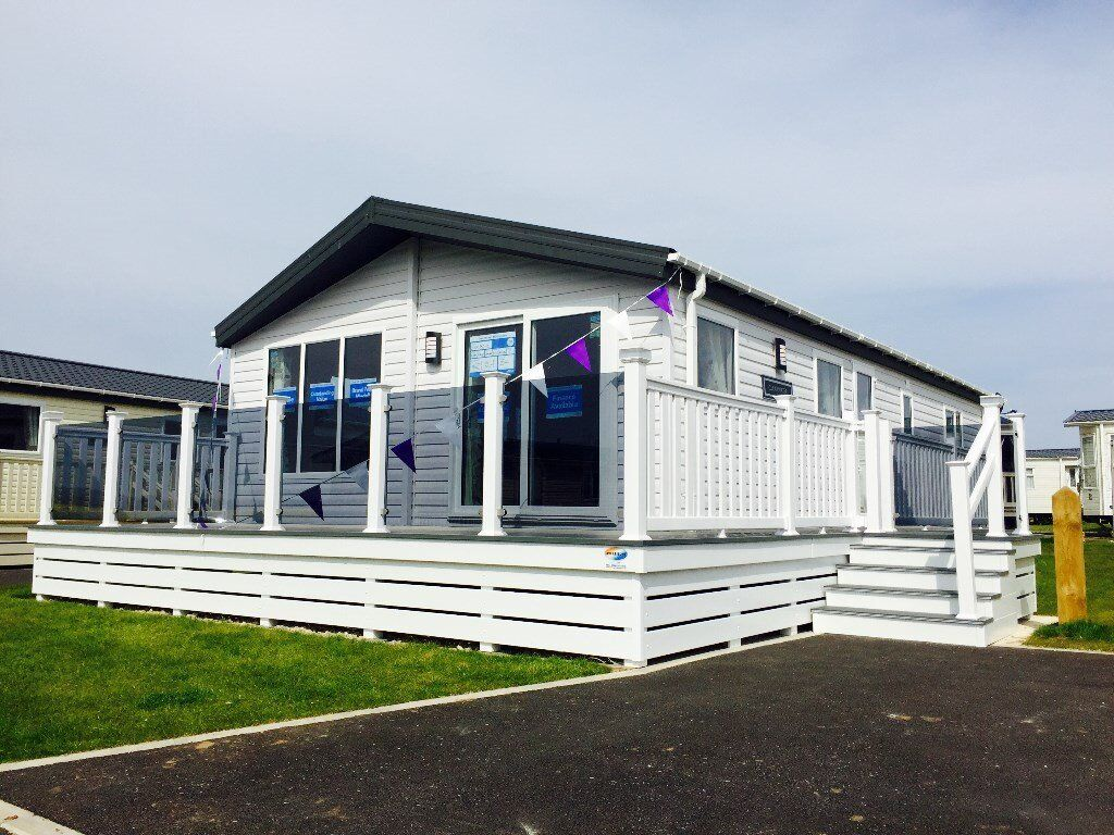 Brand New Static Caravan Lodge For Sale On Sea View Park With Pool And Beach Access 12 Month