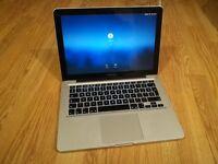 """MacBook Pro 250gb HD 4Gb memory 2.4GHz 13.3"""" Processor OS X El Capitan"""