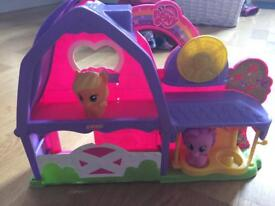 My Little Pony stable and ponies