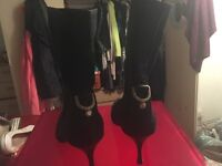 Gucci ankle boots beautiful worn twice good as new