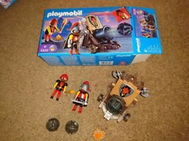 Playmobil cannon with box