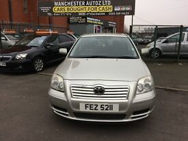 Toyota Avensis 1.8 VVT-i Colour Collection 5dr 2 FORMER KEEPER,2 KEYS,