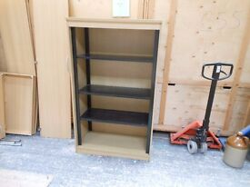 3 metal shelf heavy duty shelving unit. can deliver