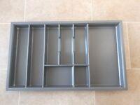 New unused Wren cutlery storage drawer organiser