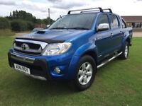2011 Toyota Hi-Lux 3.0D-4D Invincible Blue Manual