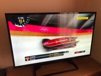Panasonic 42 inch widescreen 1080p full HD smart LED TV, built-in Wi-Fi & freeview