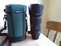 Sigma 70-200mm f2.8 ex for Sony alpha