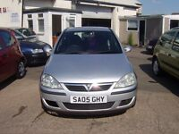 2005 VAUXHALL CORSA SRI 16V TWINPORT WITH FULL 12 MONTHS MOT £1295 ONO