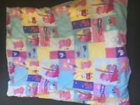 Duvet and cover for toddler bed
