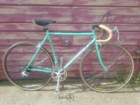 Vintage Elvish road bike size 56cm Reynolds 531