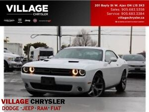 2016 Dodge Challenger SXT + TECH PKG Track PKG Nav Leather SUNR