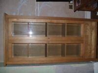 Maple Wood Display Cabinet