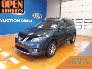 2014 Nissan Rogue SL AWD! LEATHER! PANO SUNROOF! NAVI!