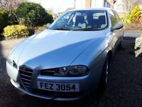 Alfa Romeo 156 Sportwagon for sale, facelift, lovely condition car, 2005, 1.8l petrol, 134,000 miles